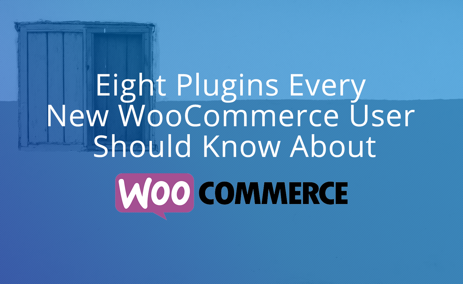 Eight Plugins Every New WooCommerce User Should Know About