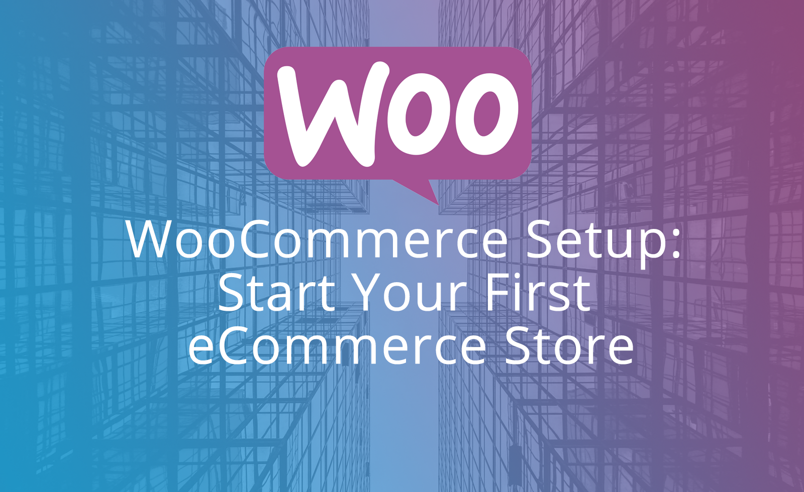 Start Your First eCommerce Store